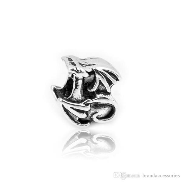 Charming Silber Lose Perlen Openwork Legierung Skulptur Für Pandora Armbänder Halskette Anhänger Schmuckzubehör DIY Zubehör Weibliche HJ106