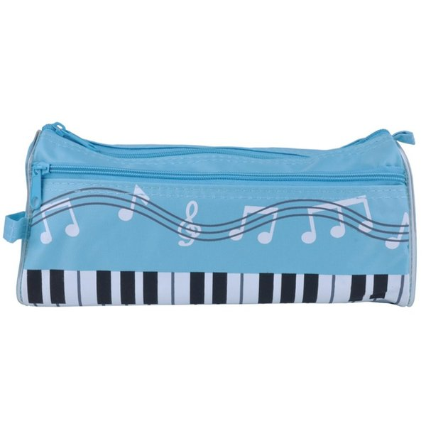 Piano Keyboard Pen Bag Multi-function Student Stationery Box Cartoon Pencil Case