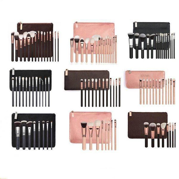 2019 New Brand Z*OEV@ Brush Set Professional Makeup Brush Set Eyeshadow Eyeliner Blending Pencil Cosmetics Tools With makeup PU Bag