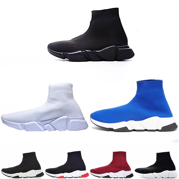 Balenciaga shoes  mujer Clásico alto cálido Botas de nieve para mujer niña botas Bota negro gris azul rojo de cuero para hombre zapatillas de deporte casuales al aire libre zapato