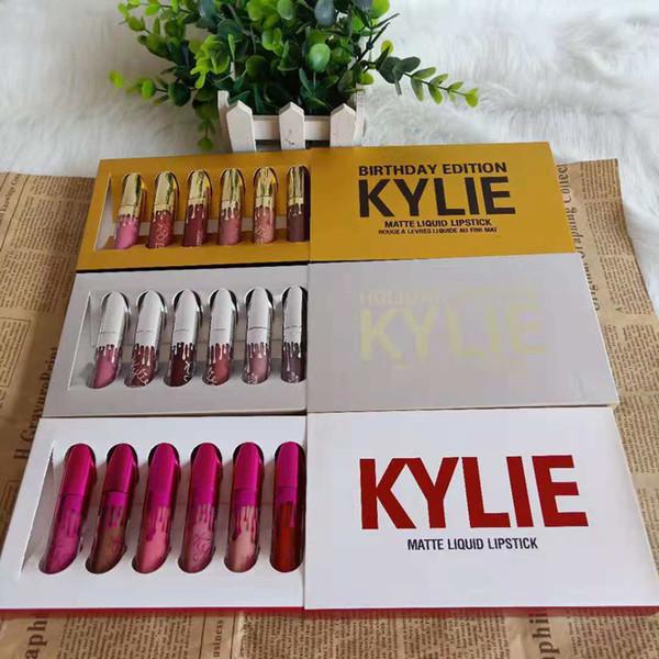 6pc liquid lip tick et liquid matte lip glo lip tick profe ional makeup la ting lipglo lip tick make up tool 6 color rra1145