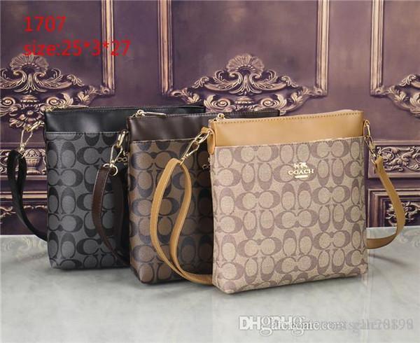 2019 styles Handbag Famous Name Fashion Leather Handbags Women Tote Shoulder Bags Lady Leather Handbags Bags purse #1707