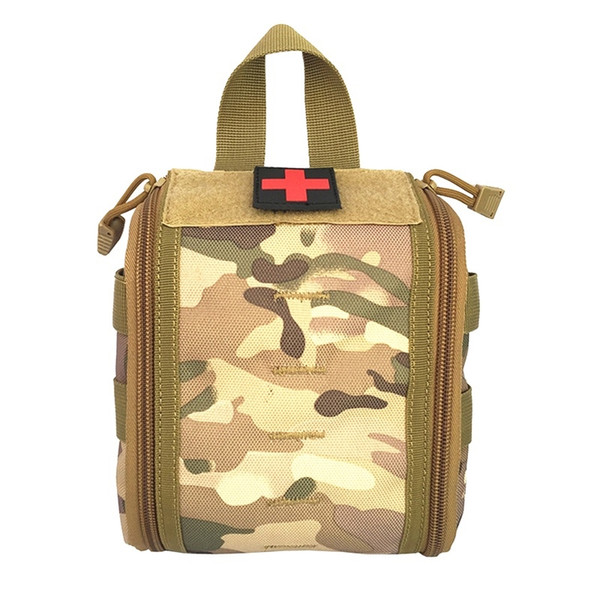Hot EDC Hunting Utility Belt Bag Tactical Molle Medical Kit Pouch Emergency Survival Gear Bag First Aid Kit Pouch Tool #85781