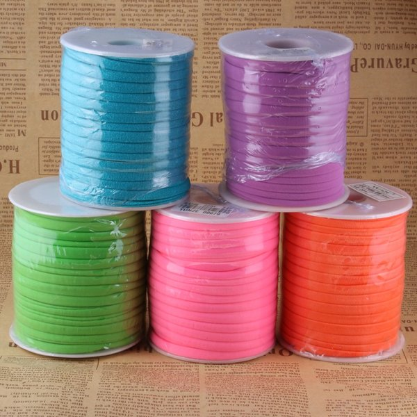 Wholesale 10 m/pack Colorful Line Wire Jewelry Cord for DIY Necklaces Bracelets Making Jewelry Findings