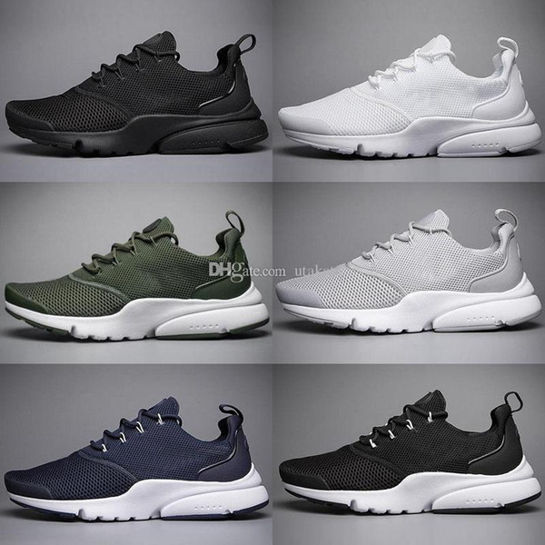 Classic Men Big Discount New Fashion Presto Fly Wire V3 Running Shoes For Men Athletic Sports Sneakers Free Shipping