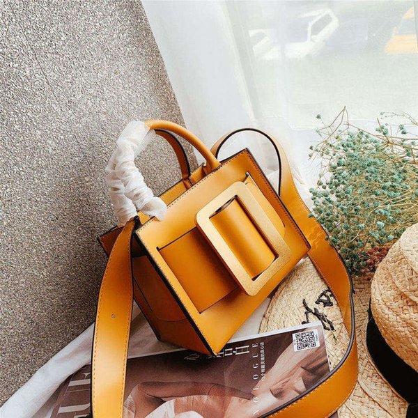 Famoso designer de mulheres bolsa nova chegada designer bolsa de ombro de alta qualidade genuína bolsa de Mensageiro de couro B100524W