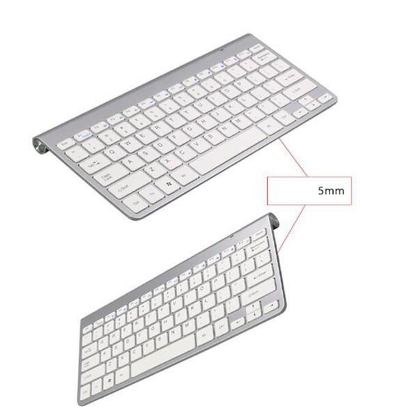 2019 NEW Wireless Keyboard Mouse Combo 2.4G Keyboard Ultra-Thin Wireless Mouse for Apple Keyboard Style Mac Win 7/8/10 Tv Box DHL Free