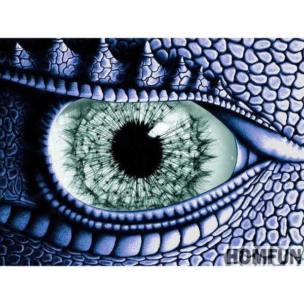 "Full Round Drill 5D DIY Diamond Painting ""Dragon Eye"" Embroidery Cross Stitch 5D Home Decor Gift"
