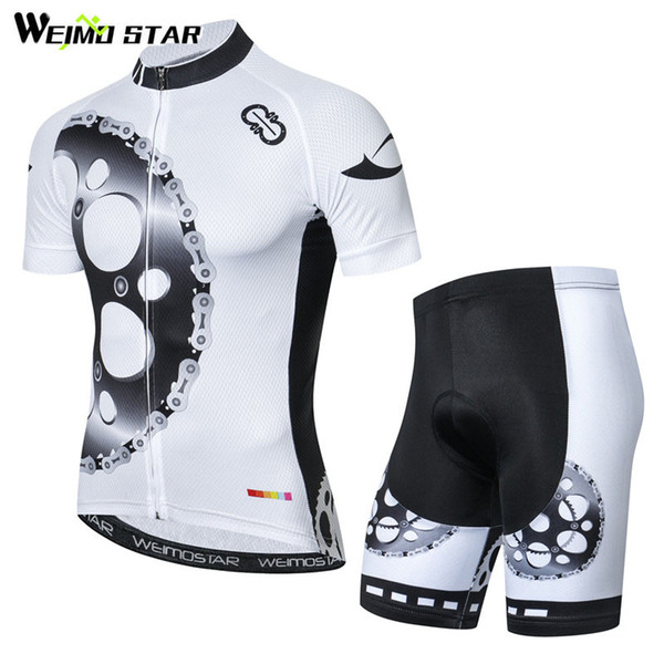 Weimostar Men Team Short Sleeve Cycling Jersey Bike Bicycle roupa ciclismo Top