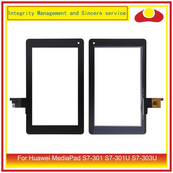 "ORIGINAL 7.0"" For Huawei MediaPad S7-301 S7-301U S7-303U Touch Screen Digitizer Panel Sensor LCD Glass PC Tablet Replacement"