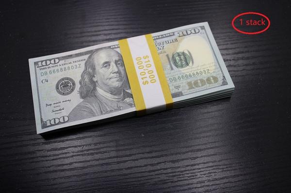 1 пакет 100 dolars (100шт)