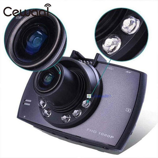 Cewaal 2,4 Zoll Infrarotkamera Fahrzeug Digital Video Recorder Dash Car Cam IR Nachtsichtgerät Camcorder