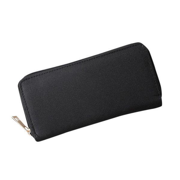 Sleeper #4001 Fashion Women Oxford Road Wallet Coin Bag Purse Phone Bag pure color bolsa #151052
