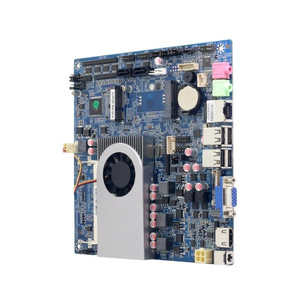 Mini industrial computer 1007u micro small host CPU quad core set mini pc integrated industrial control small motherboard