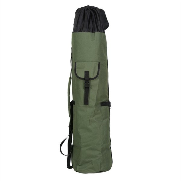 Portable Fishing Bags Folding Rod Reel Padded Holdall Fishing Pole Tools Storage Bag Case For 12/13FT Gear Tackle Army #85245