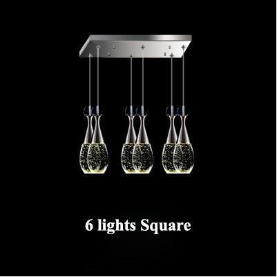 6 أضواء مربع