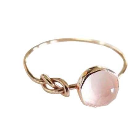 Новая Мода Сплав Изысканный Красивый Природный Драгоценный Камень женское Кольцо Невесты Кольцо Обручальное Кольцо День Рождения