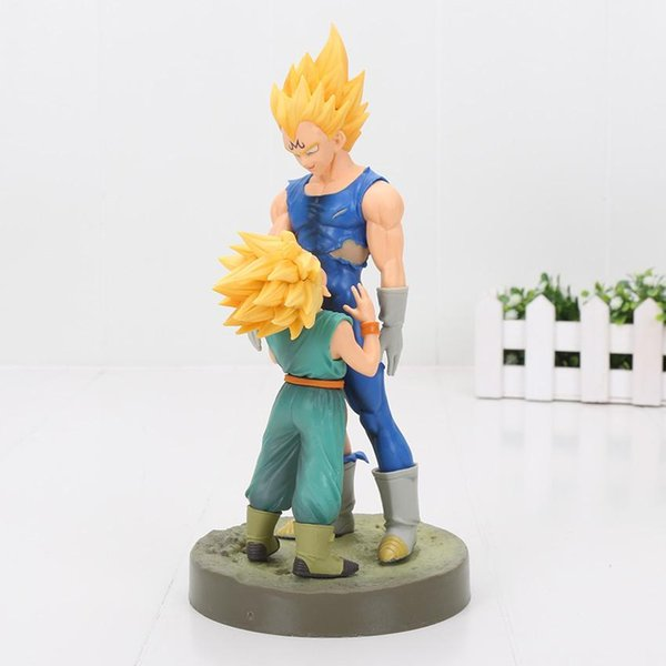 Dragon Ball Z Figure Showcase dramatique 4ème saison Super Saiyan Trunks Vegeta action PVC Figure Modèle Toy 21cm