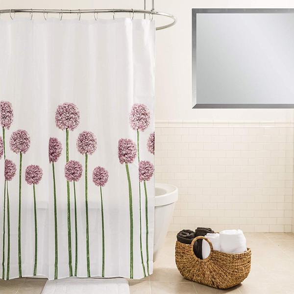 Rideau de douche en tissu Polyester Allium