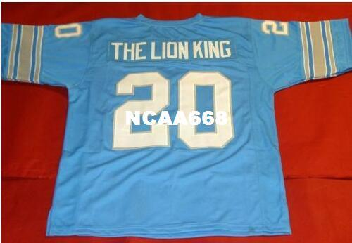 best selling Men CUSTOM THE LION KNG RETRO College Jersey size s-4XL or custom any name or number jersey