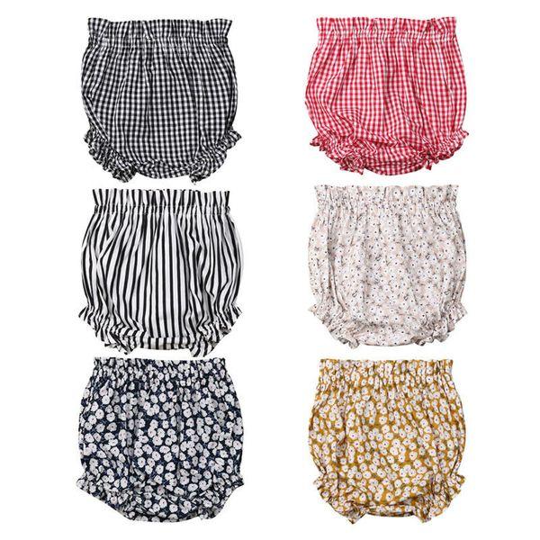 top popular Newborn Kids Baby Boy Girls Bottoms Bloomer Shorts Diaper Cover Panties PP Pants for Kid clothes toddler Children 2021