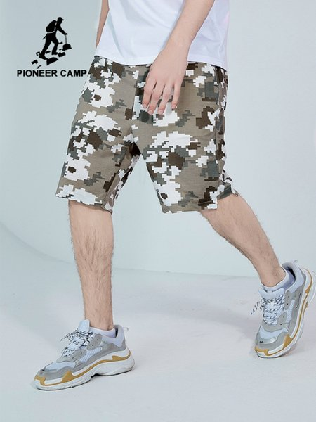 2019 New Men Camouflage Shorts Casual Male Military Cargo Shorts Knee Length Mens Summer Short Pants ADK901157