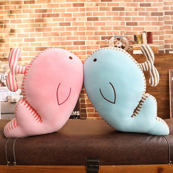 Lovely Soft Dolphin Animal Doll Stuffed Plush Toy Home Party Wedding Kid Gift DROPSHIPPING NEW ARRIVAL