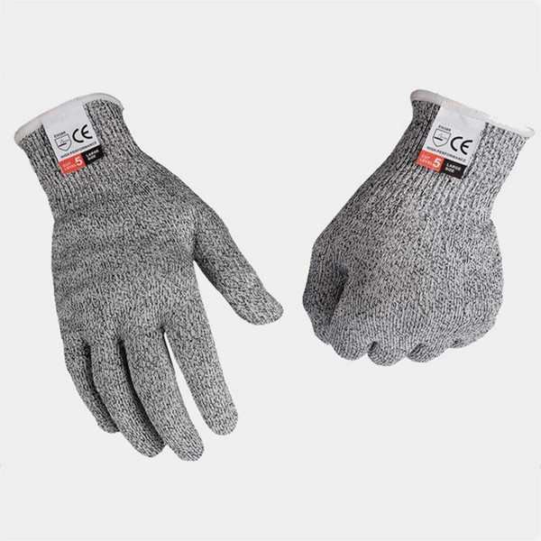 Protective Gloves HPPE Five-Level Cut-Proof kitchen protective Anti-Cutting Touch-Screen Gloves