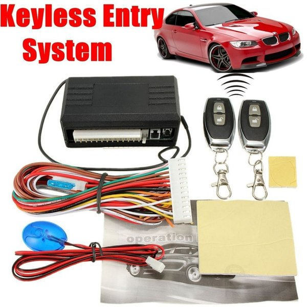 New Auto Universal Door Lock Vehicle Keyless Entry System Auto Car Remote Central Kit Anti-theft System Car Alarm Engine