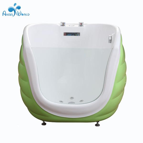 Equipo profesional de bebé Swim Spa Proveedor concha Tipo multifunción material acrílico bebé spa con hidromasaje bañera de masaje