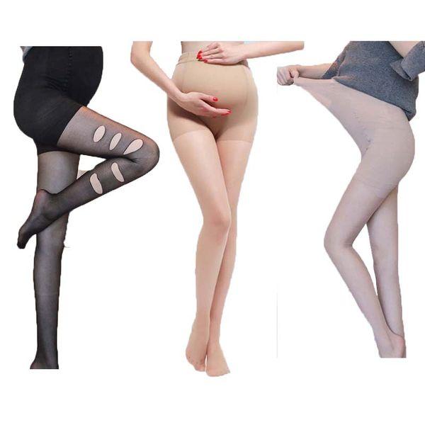 Материнские колготки дышащий колготки беременных женщин одежда для беременных анти-зачистки трусы для беременных женщин хлопчатник тонкий 58