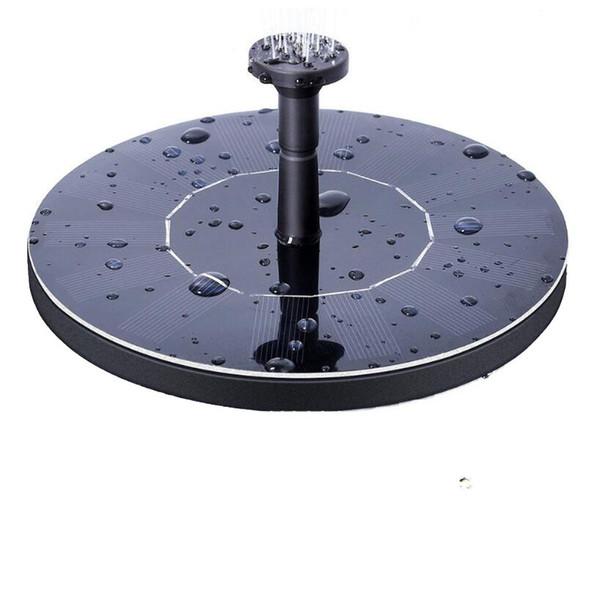 Outdoor Solar Powered Water Fountain Pump Floating Outdoor Bird Bath For Bath Garden Pond Watering Kit