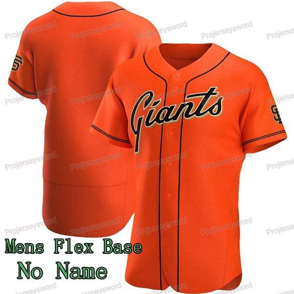 mens base de flex orange, pas de nom