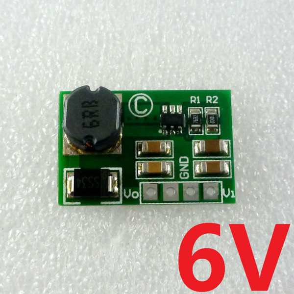 8W 3V 3.7V конвертер Модуль питания 6V DC DC Boost, повышающий для солнечного мобильного телефона смартфон Li ионный аккумулятор зарядного устройства