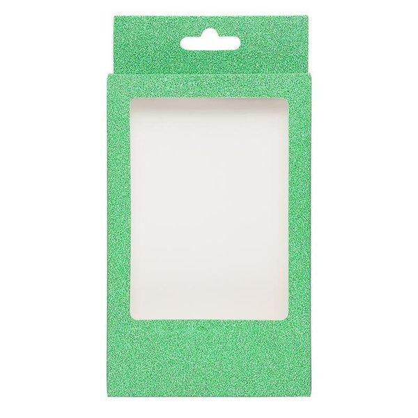 scatola di ciglia verde