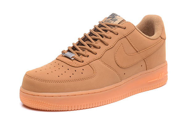 nike air force 1 one Dunk Chegada Nova One 1 Dunk Running Shoes todos Ones Preto Branco Homens Mulheres Sports Skateboarding High Low Cut trigo Brown Trainers Sneakers L9SCE