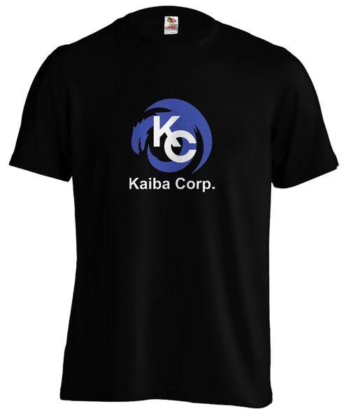 Yugioh Kaiba Corp Corporation Card Game Blue Eyes Silver Dragon T shirt TeeFunny free shipping Unisex Casual Tshirt