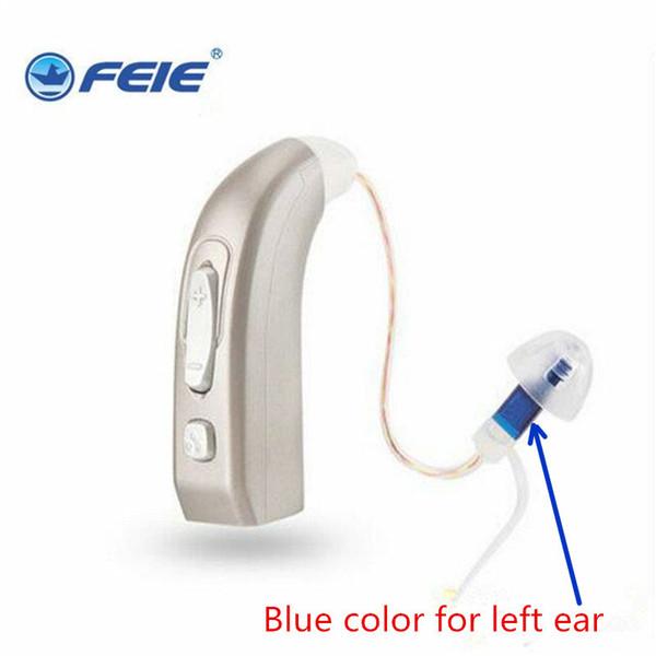 Mini audífono recargable digital Audífonos BTE Ancianos Inalámbrico Inalámbrico Moderado a Grave pérdida Amplificadores de sonido de alta potencia MY-33