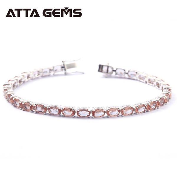 Zultanite pulsera de plata esterlina para las mujeres joyería fina pulsera de la boda 30 quilates creado Zultanite S925 para mujeres boda J190721