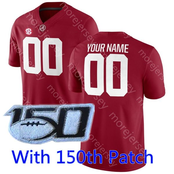 Red 150th patch