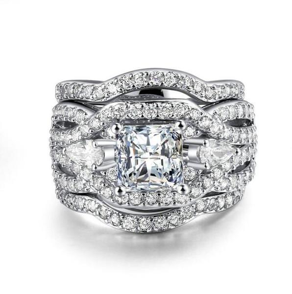 NUOBESTY 36 piezas anillos de dedo de diamante creativo encantador elegante lindo anillo de diamantes ni/ñas joyer/ía juguetes educativos para ni/ños decoraci/ón ni/ñas estilo aleatorio