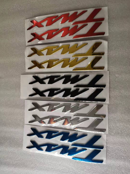 пара 3D логотип для Tmax ТМОВ 3D наклейки мотоциклов