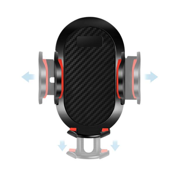 Support de support monté par pare-brise d'aspiration HOT Auto Phone Holder avec boucle d'aération HV99