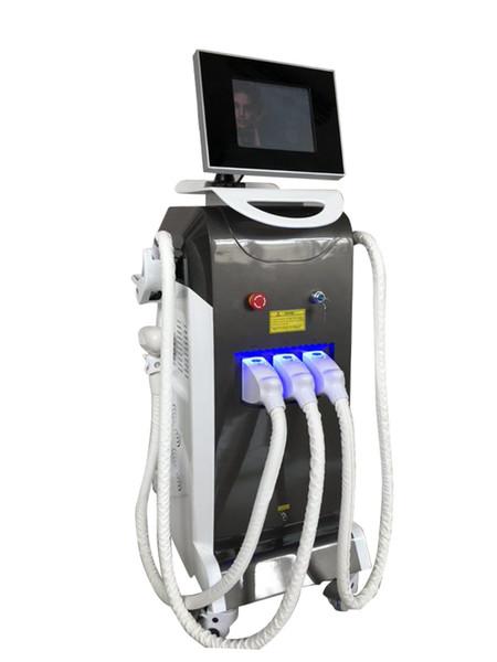 Машина лазера 3 в 1 OPT IPL ND-yag для удаления татуировки удаления волос и подтяжки лица