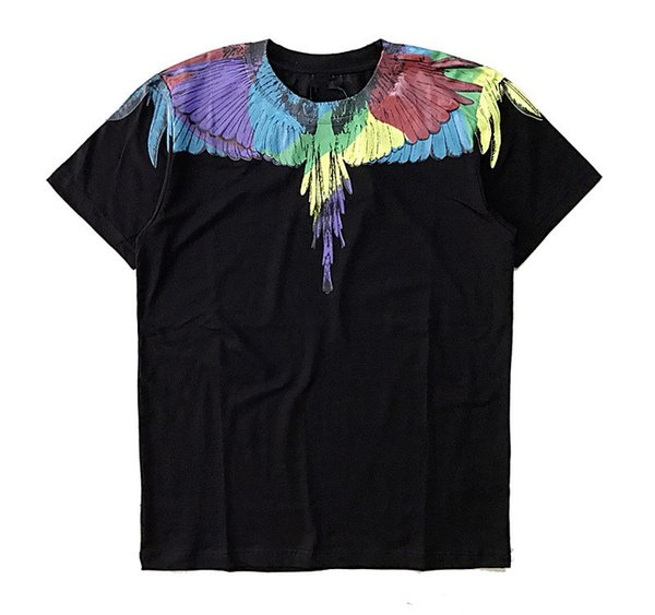 Tshirts Men Women Italy County of Milan Feather Wings MB T Shirt RODEO MAGAZINE Tee Fashion Men's T-Shirts S-XL