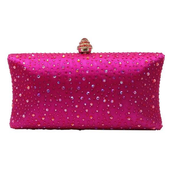 Fuchsia Crystal Bag