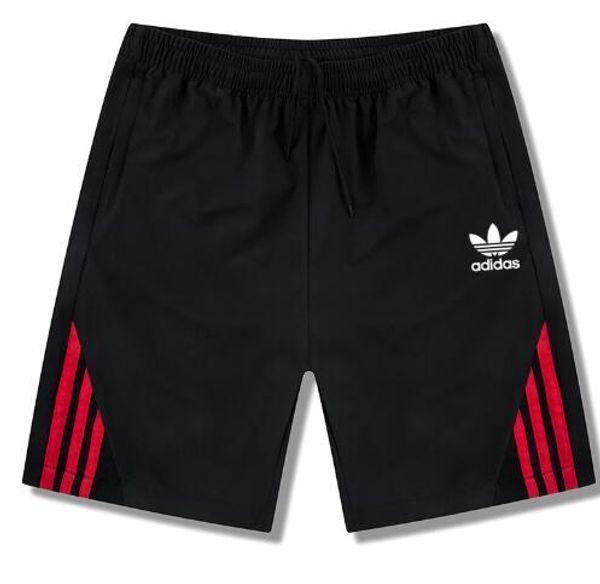 Nuovi uomini Pantaloncini sportivi estivi, pantaloni casual traspiranti, pantaloni larghi da sette cent, pantaloni da spiaggia da uomo # 4549