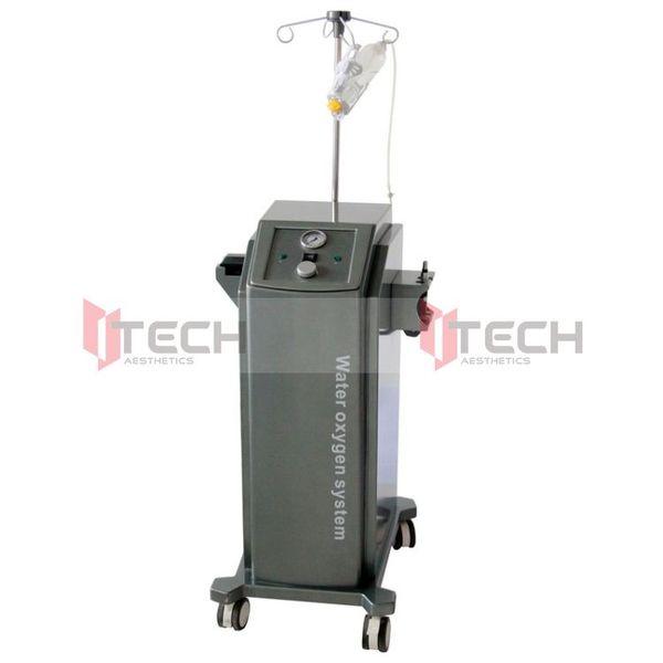Pelle di ossigeno Trattamento dell'acne Cura Iniezione Spa Acqua ad ossigeno Sistema Jetpeel Jet Peel H200 facciale macchina di bellezza