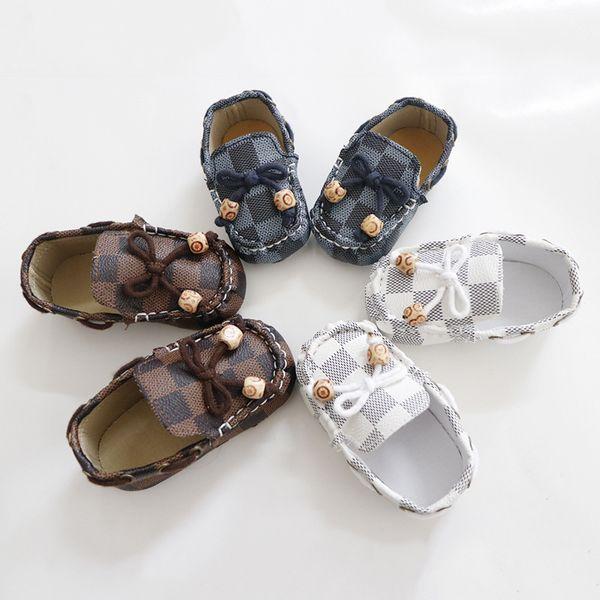 Fashion kids Shoes newborn baby boy shoes infant baby boy designer shoes baby designer shoe Moccasins Soft First Walker Infant shoe