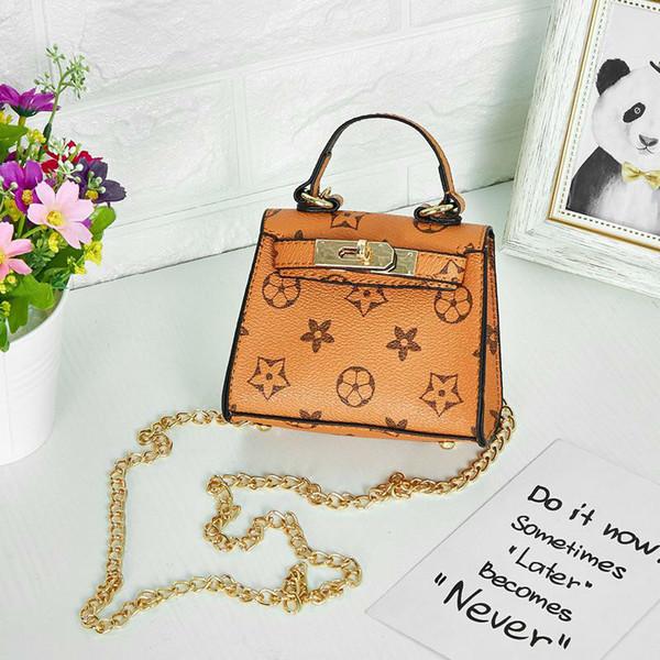 Cute Children Kids Baby Handbags Print Mini Purse Shoulder Bags For Teenager Girls Bags Christmas Gifts